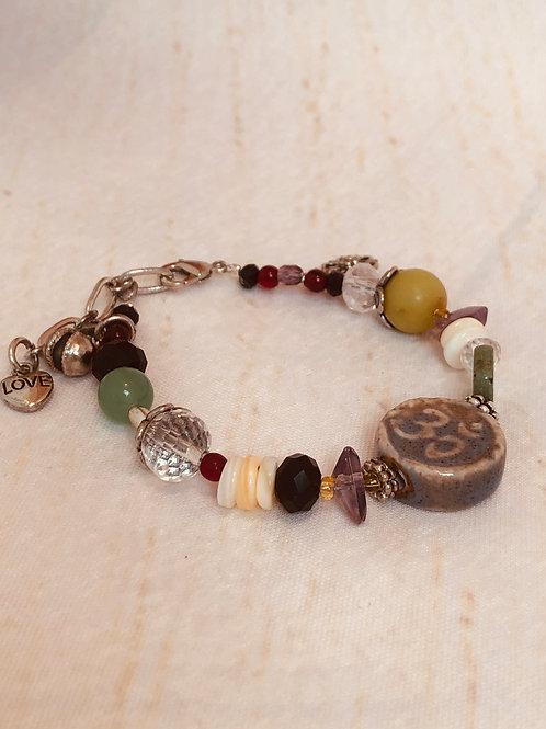 Om Love Bracelet