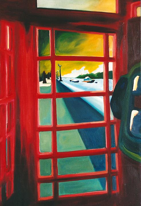 Telephone Box-1999-approx75:109cm.tif