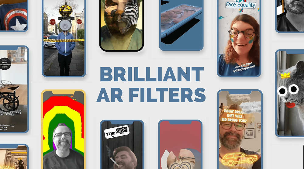 Best social media campaigns AR and Augmented Realty Instagram TilTok Triller