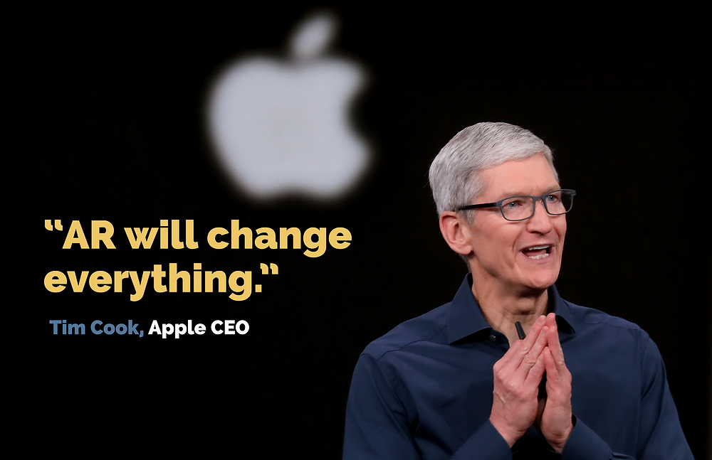 Tim Cook Apple CEO Augmented Reality