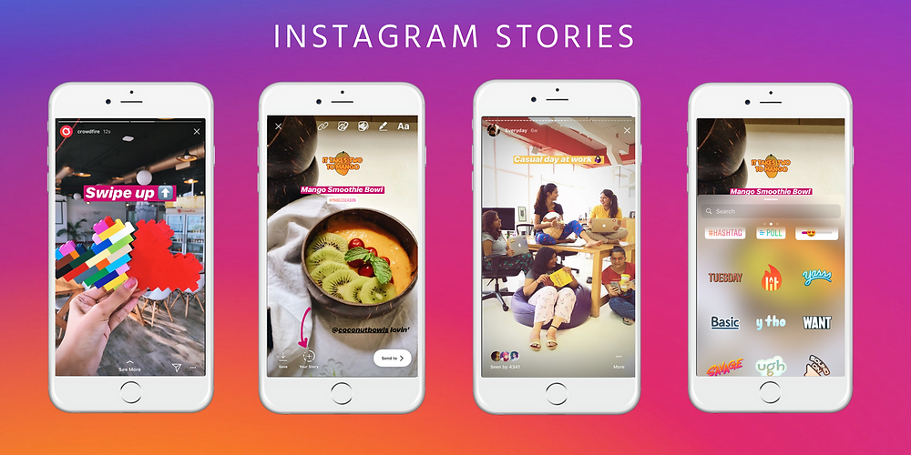 Using Filters in Instagram Stories
