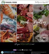 Pansol Food Seafood, Meat and Poultry