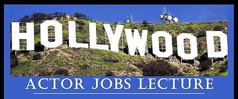 Hollywood Actor Jobs