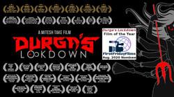 """""""Durga's Lockdown"""" 2020 FFF Nominee banner"""