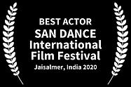 Best Actor San Dance Jaisalmer India 202