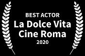 Best Actor 2020 La Dolce Vita Cine Roma