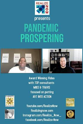 Pandemic Prospering 4 poster 2020