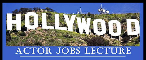 Hollywood Actor Jobs Banner
