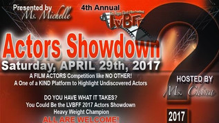 Upcoming: 2017 Las Vegas Black Film Festival 4th annual Actors SHOWDOWN Competition