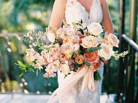 Intimate and Tropical Destination Wedding in Key West