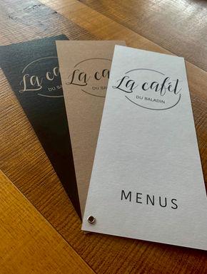 Carte menu