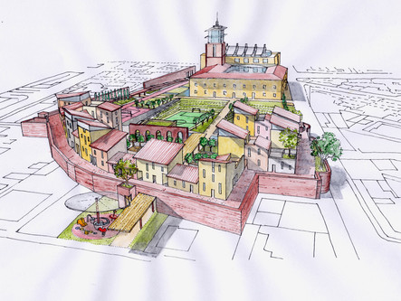 Complesso residenziale-terziario Pesaro