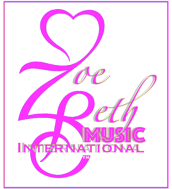 Zoe Beth™Music International P Logo