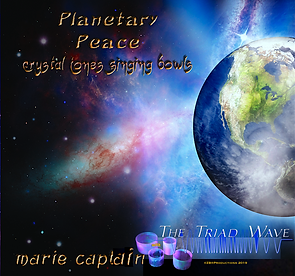 M. Captain and ZB Productions Planetary Peace: Crystal Tone Singing Bowls