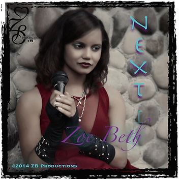 Zoe Beth Music Global: Next Cover Art