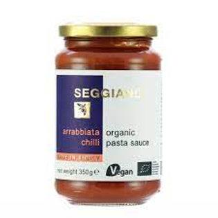 Organic Pasta Sauce - Arrabbiata Chilli
