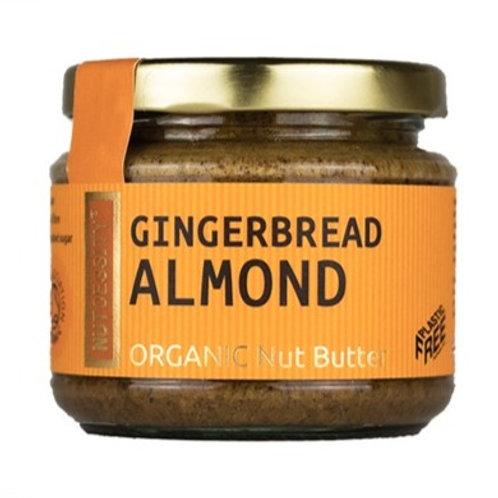 Nutcessity Organic Nut Butter -Gingerbread Almond