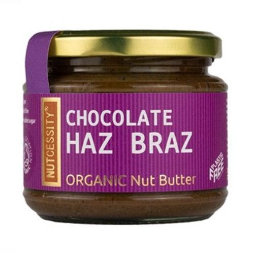 Nutcessity Organic Nut Butter - Chocolate Haz Braz