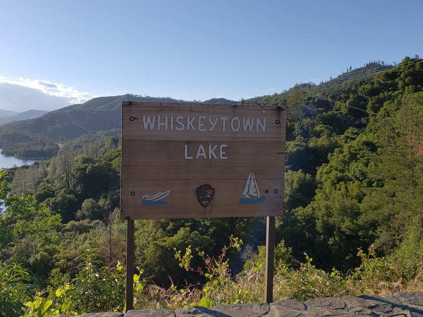 Northern California Fishing and Camping: Whiskeytown Lake
