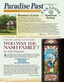 PHS Summer 2021 Newsletter cover.jpg