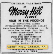 Merry Hill - Paradise Valley