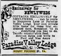 Memorytown / Paradise Valley Lodge