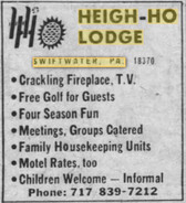 Heigh Ho Lodge - Swiftwater