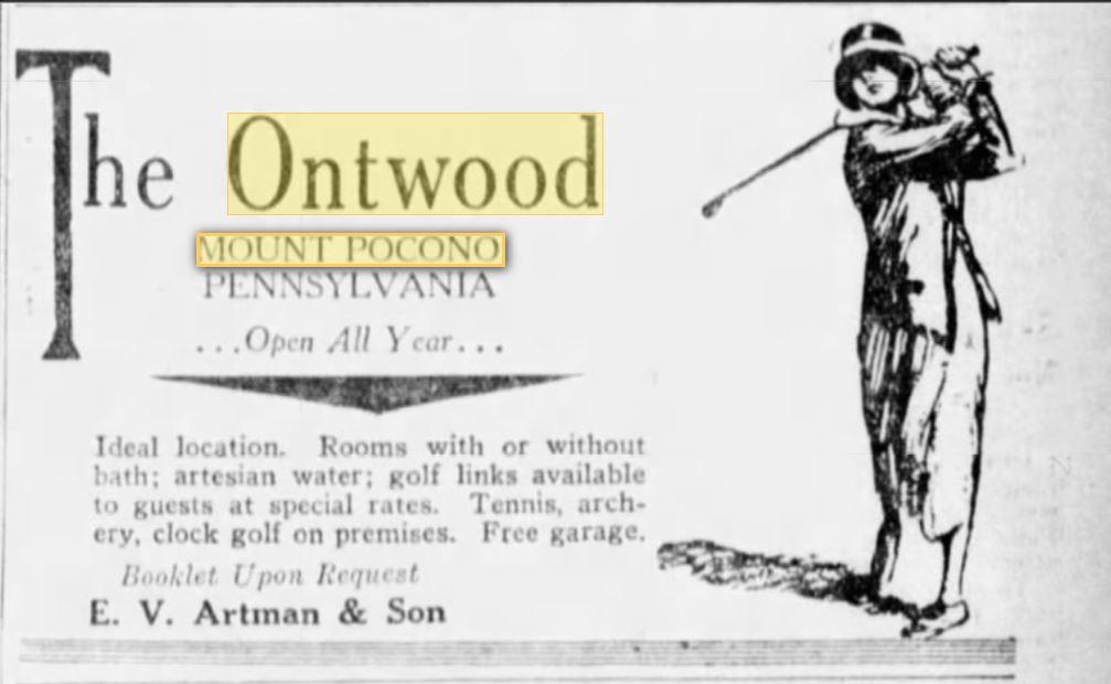 Ontwood - Mt. Pocono