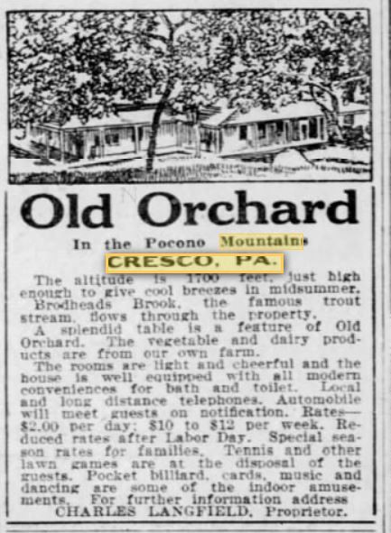 Old Orchard - Cresco