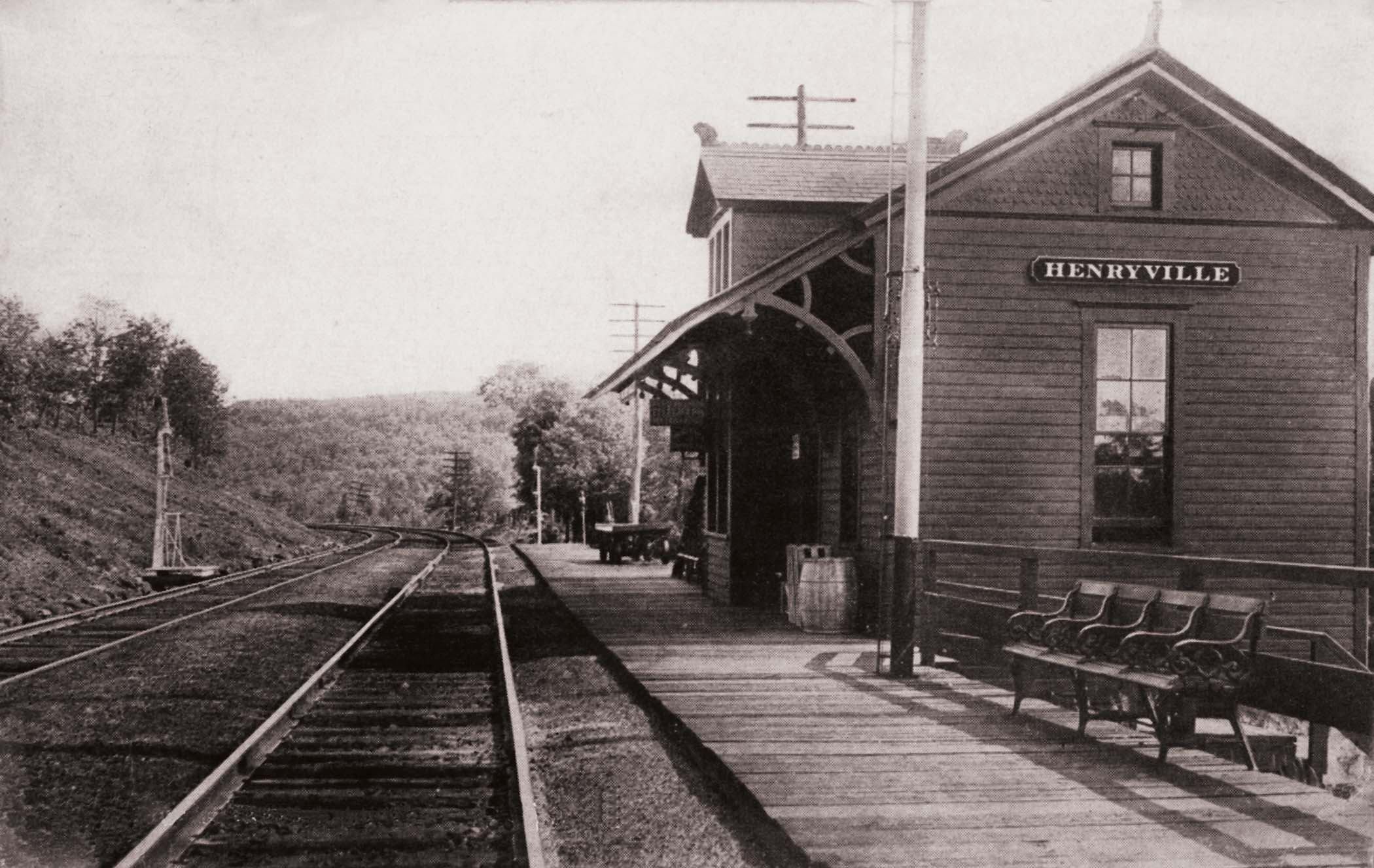 Henryville Railroad Station