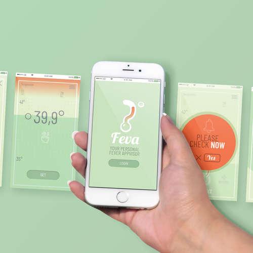 Feva app concept & design