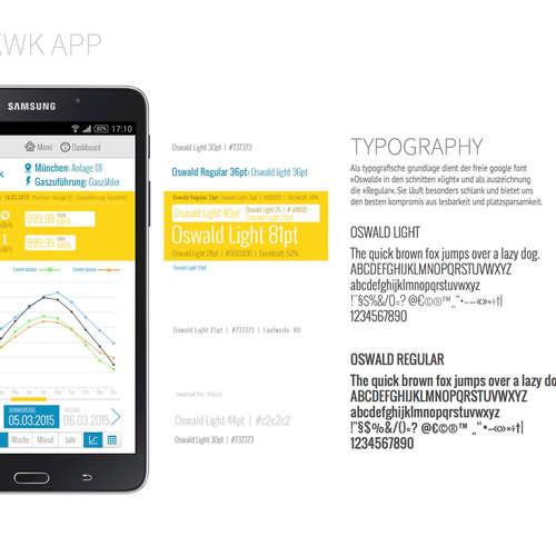 e.on KWK app concept & design