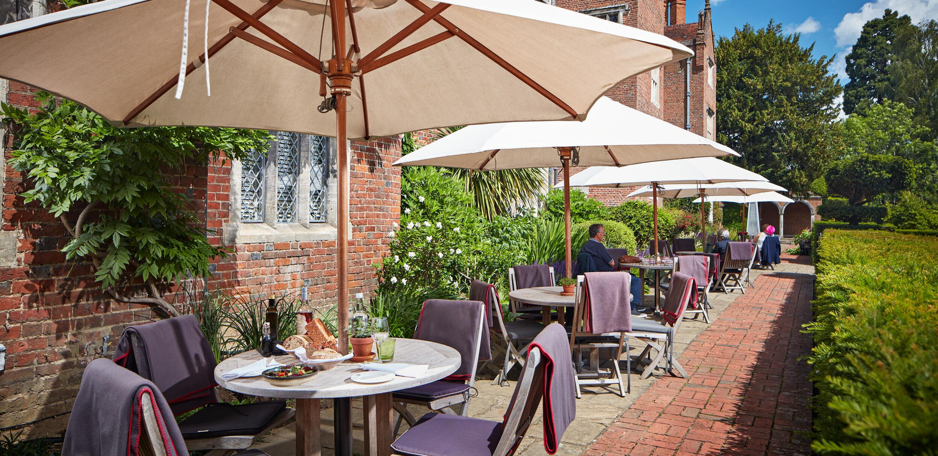 The Terrace at Great Fosters