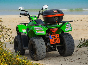 Quad Bike, Mozambique
