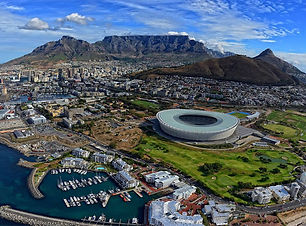 Cape Town, Aerial View