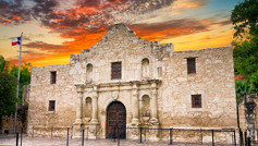 Nicknamed 'The Lone Star State' for its former status as an independent republic and as a subtle reminder of the state's struggle for independence from Mexico, Texas is place of cultural contrasts and fascinating history with centuries-old sites and traditions. Although Texas is known as the home of the famous Alamo, where one of the most pivotal battles of the Texas Revolution was fought there are many other historical sites dotting the state. Many of them are almost perfectly preserved and give a glimpse into the lives of the first people to call Texas their home.