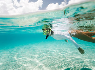 Snorkelling, Mozambique