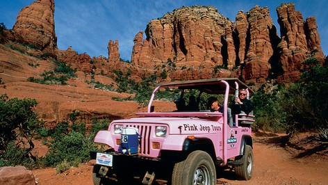 Sedona is the jewel in the crown of Arizona and is a must-see on any trip to Arizona. Located about two hours north of Scottsdale, Sedona is known for its fiery red rock formations and eclectic New Age personality.