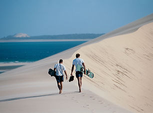 Dune Boarding, Mozambique