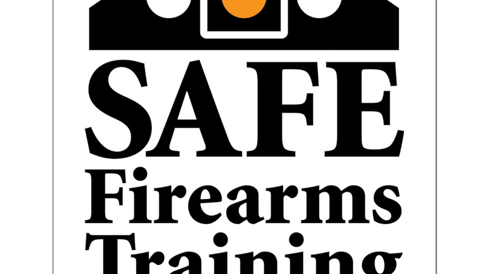 Square Stickers - SAFE Firearms Training, LLC Logo