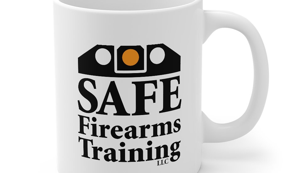 Mug, 11oz - SAFE Firearms Training, LLC Logo
