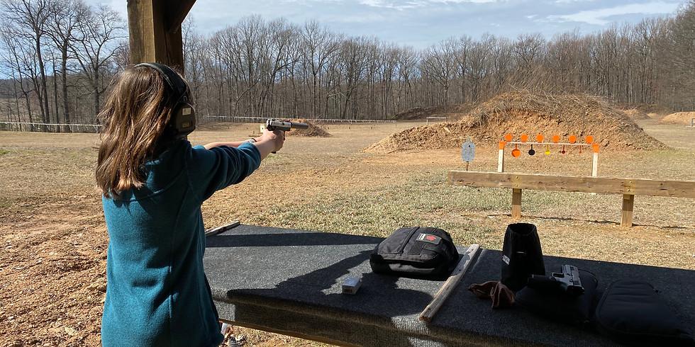 Women's Handgun 1 - Basic Firearm Safety Class w/ MD HQL - Jun 26