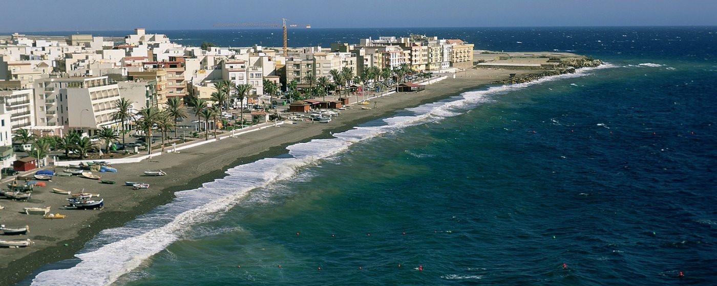 Playas de La Rábita, en la costa de la Contraviesa