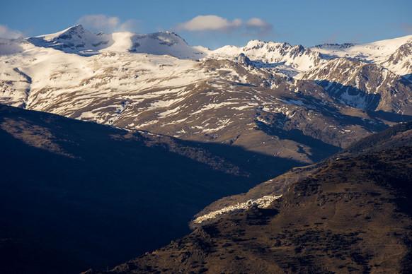 El valle de Poqueira en la Alpujarra
