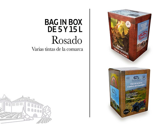 Bag in Box - Rosado 5 litros