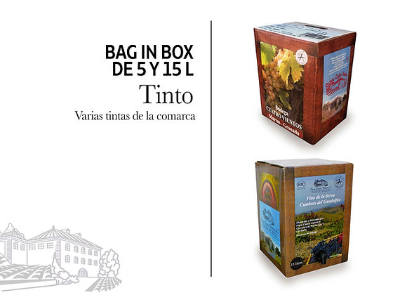 Bag in Box - Tinto 5 litros