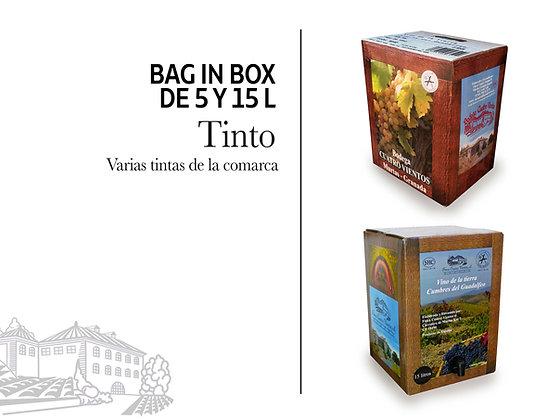 Bag in Box - Tinto 15 litros