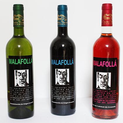 Lote: Selección Malafollá tres botellas
