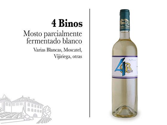 4 Binos - Blanco