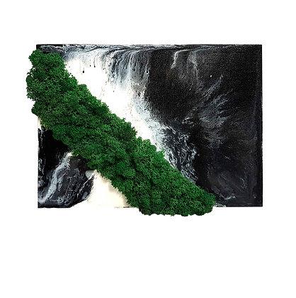 Vízesés a sziklákon Zuzmókép